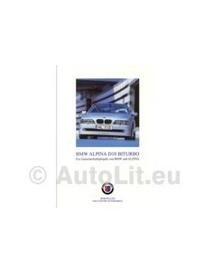 2001 BMW ALPINA B10 BITURBO BROCHURE DUITS