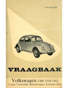 1961 -1963 VOLKSWAGEN 1200 VRAAGBAAK NEDERLANDS
