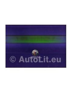 2005 BMW ALPINA B7 BROCHURE + SLIPCASE DUITS