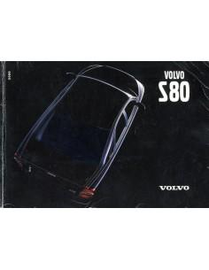2000 VOLVO S80 INSTRUCTIEBOEKJE NEDERLANDS