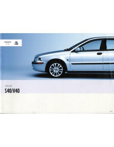 2003 volvo s40 v40 owner s manual dutch rh autolit eu Volvo S40 SE Volvo S40 Timing Belt Replacement