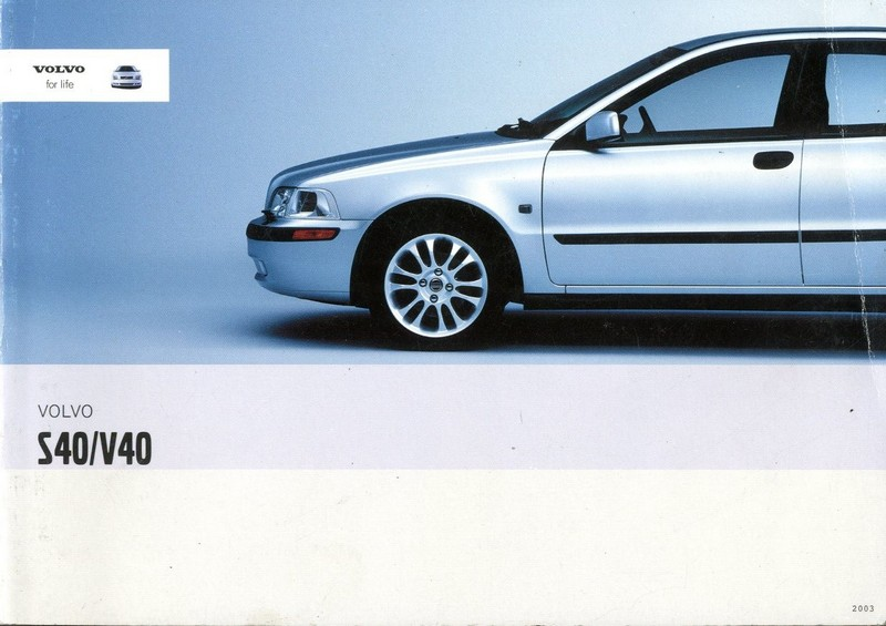 owner manual for 2003 volvo s40 user manual guide u2022 rh userguidedirect today 2003 Volvo S60 Repair Manual 2003 volvo s60 owners manual pdf