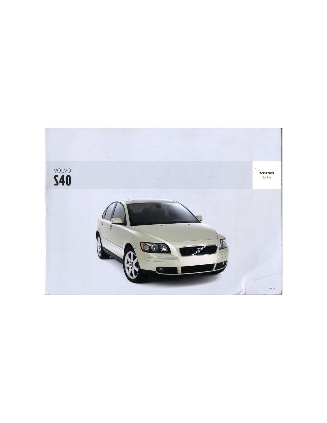 2003 volvo s40 v40 owner s manual dutch rh autolit eu 2004 Volvo S40 Parts Diagram 2002 Volvo S40 Manual