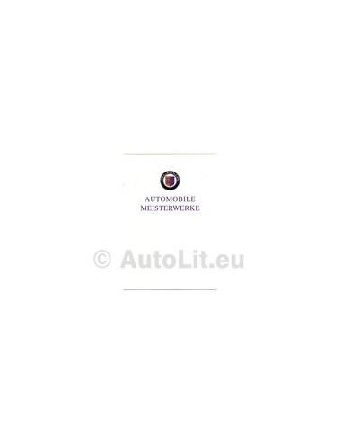 1994 BMW ALPINA RANGE BROCHURE DUITS