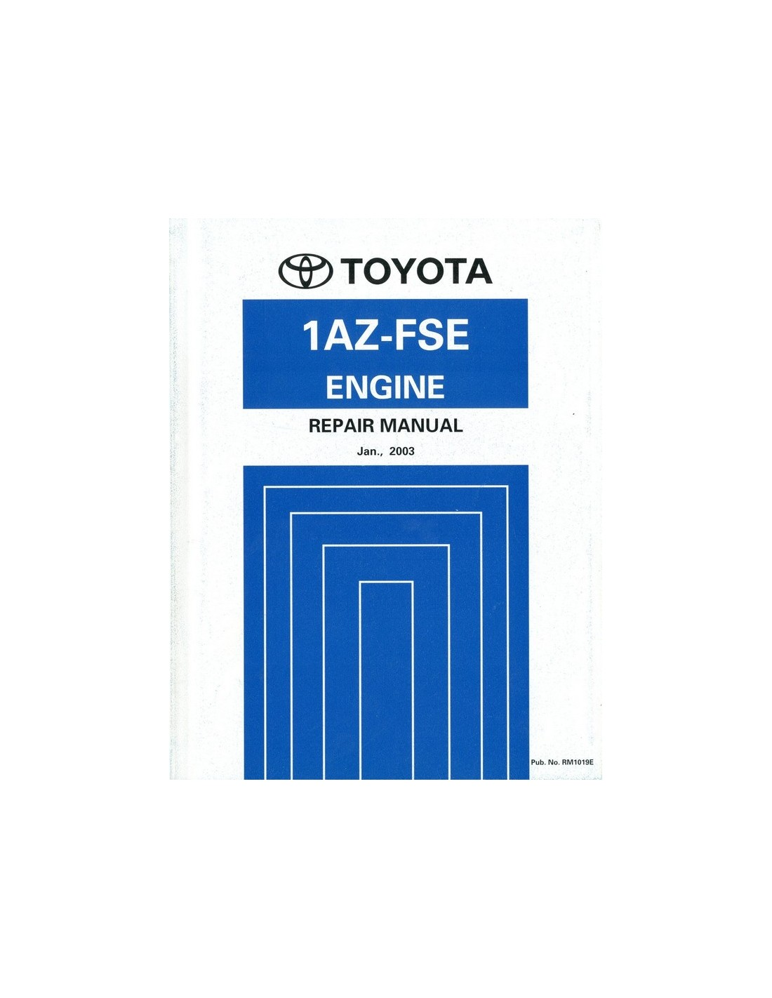 2003 toyota avensis 1az fse engine repair manual english rh autolit eu Toyota 2.4 Liter Engine 1az fse engine toyota repair manual