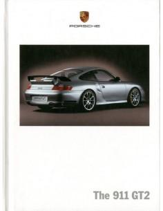 2005 PORSCHE 911 GT2 HARDCOVER BROCHURE ENGELS
