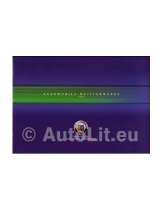 2003 BMW ALPINA RANGE BROCHURE DUITS