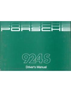 1988 PORSCHE 924 S INSTRUCTIEBOEKJE ENGELS