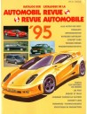 1995 AUTOMOBIL REVUE YEARBOOK GERMAN FRENCH