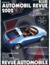 2002 AUTOMOBIL REVUE YEARBOOK GERMAN FRENCH