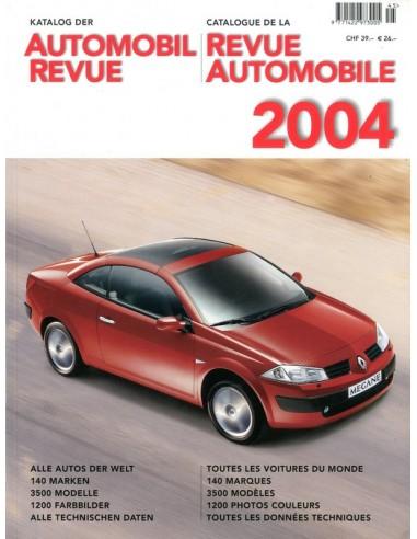 2004 AUTOMOBIL REVUE JAARBOEK DUITS FRANS