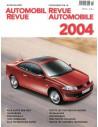 2004 AUTOMOBIL REVUE JAHRESKATALOG DEUTSCH FRANZÖSISCH