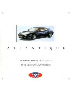 1994 VENTURI ATLANTIQUE BROCHURE FRANS