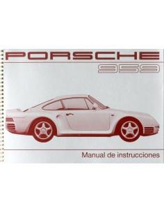 1987 PORSCHE 959 INSTRUCTIEBOEKJE SPAANS
