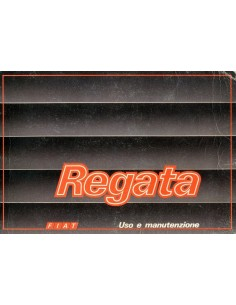 1986 FIAT REGATA INSTRUCTIEBOEKJE ITALIAANS