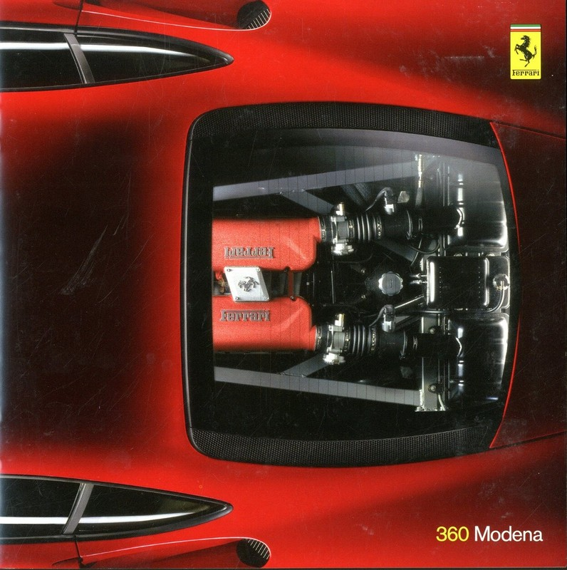 Photo/'s 1999 FERRARI 360 MODENA SPEC SHEET// Brochure