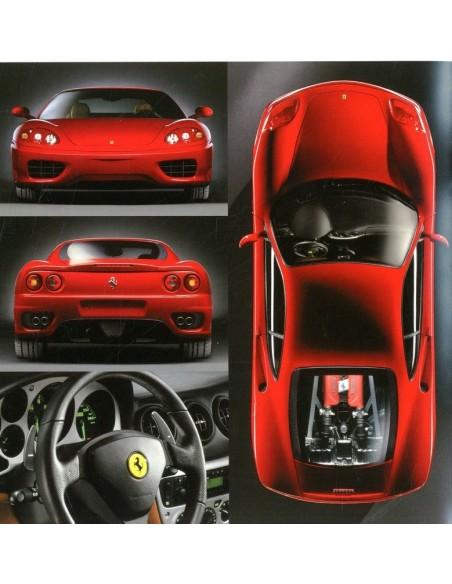 1999 Ferrari 360 Modena Prospekt Französisch 1542 99
