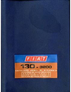 1971 FIAT 130 - 3200 ONDERDELENHANDBOEK