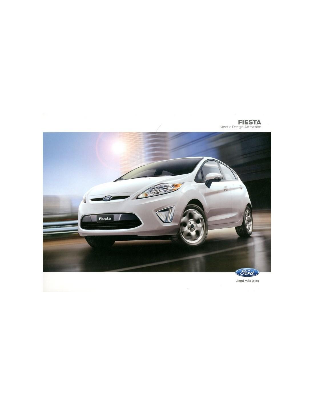 2013 Ford Fiesta: 2013 FORD FIESTA LEAFLET SPAANS