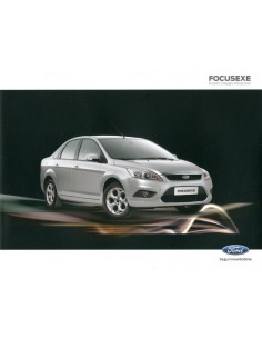 2011 FORD FOCUS EXE LEAFLET SPAANS