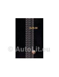 1985 ALFA ROMEO 33 PROSPEKT DEUTSCH