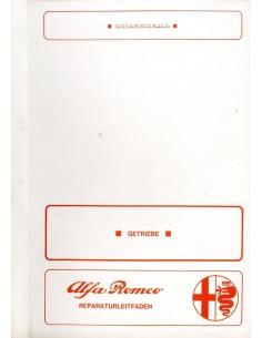 1973 ALFA ROMEO MONTREAL AANDRIJVING WERKPLAATSHANDBOEK DUITS