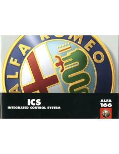 1999 ALFA ROMEO 166 ICS INSTRUCTIEBOEKJE FRANS