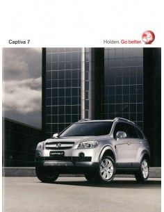 2010 HOLDEN CAPTIVA 7 BROCHURE ENGELS