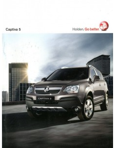 2010 HOLDEN CAPTIVA 5 BROCHURE ENGELS
