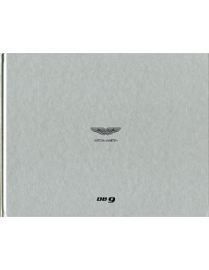 2013 ASTON MARTIN DB9 HARDCOVER BROCHURE ENGELS