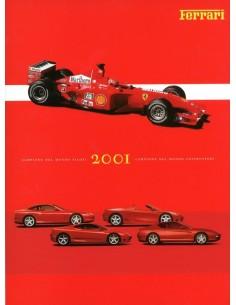 2001 FERRARI JAARBOEK ITALIAANS / ENGELS 1756/01