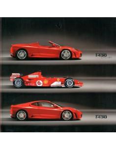 2005 FERRARI F430 & F430 SPIDER BROCHURE
