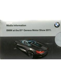 2011 BMW GENEVE PERSMAP + 1X USB