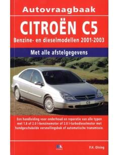 2001 - 2003 CITROEN C5 BENZINE DIESEL VRAAGBAAK NEDERLANDS