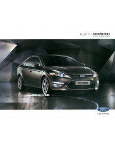 2012 FORD MONDEO BROCHURE SPAANS