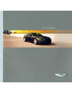 2005 ASTON MARTIN V8 VANTAGE BROCHURE DUITS