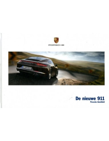 2012 porsche 911 carrera hardcover brochure dutch. Black Bedroom Furniture Sets. Home Design Ideas