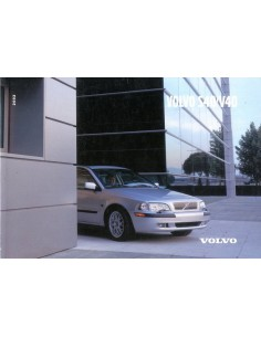 2002 VOLVO S40 V40 INSTRUCTIEBOEKJE NEDERLANDS