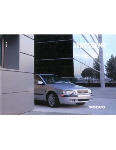 2002 volvo s40 v40 owner s manual dutch rh autolit eu volvo s40 1999 service manual 1999 volvo s40 owners manual pdf