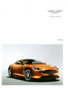 2012 ASTON MARTIN VIRAGE BROCHURE ENGELS