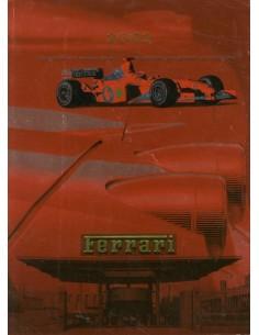 2002 FERRARI JAARBOEK ITALIAANS / ENGELS 1875/02