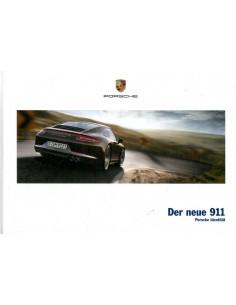 2013 PORSCHE 911 CARRERA HARDCOVER BROCHURE DUITS