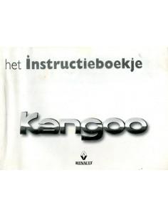 1998 RENAULT KANGOO INSTRUCTIEBOEKJE NEDERLANDS