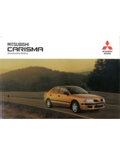 1999 MITSUBISHI CARISMA INSTRUCTIEBOEKJE NEDERLANDS