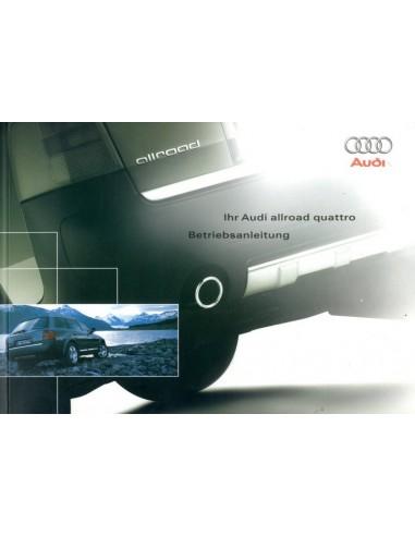 2003 audi allroad quattro owner s manual german rh autolit eu 2004 audi allroad owners manual pdf 2003 audi allroad owners manual pdf