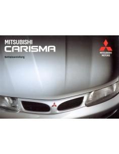 1997 MITSUBISHI CARISMA INSTRUCTIEBOEKJE DUITS