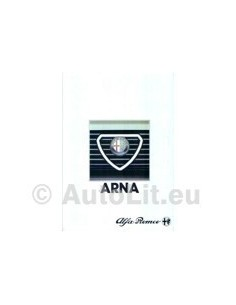 1984 ALFA ROMEO ARNA BROCHURE FRENCH