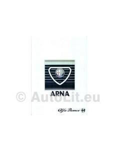 1984 ALFA ROMEO ARNA BROCHURE FRANS
