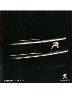 2013 PEUGEOT RCZ R BROCHURE DUITS
