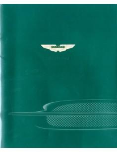 2002 ASTON MARTIN DB7 VANTAGE BROCHURE ENGELS